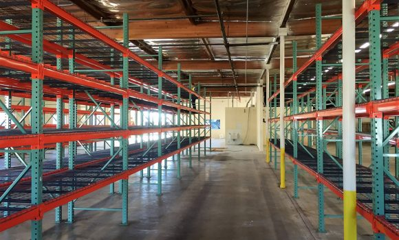 Pallet racks at Sonoran Plumbing Supply